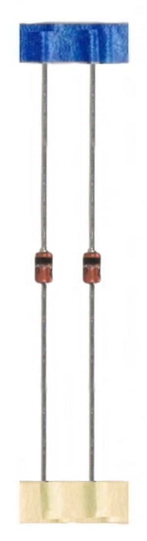 Z-Diode Zenerdiode Diode 20V BZX85C 1,3W 2 Stück (0020)