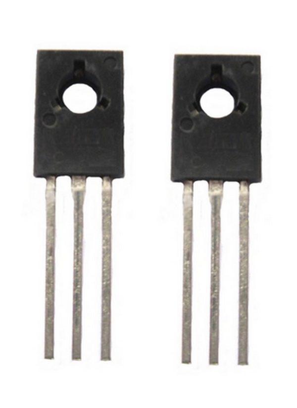 Transistor BD140 PNP 80V 1.5A TO126 2 Stück (0031)