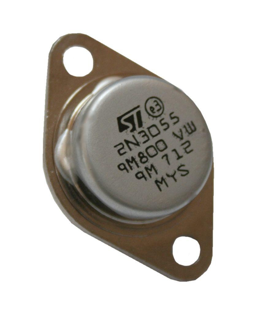 Transistor 2N3055 15A 60V TO-3 (0042)