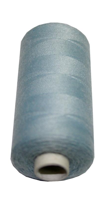 Nähmaschinen Nähgarn Polyester Ne 40/2 silbergrau 1 Spule 500 m (1004)