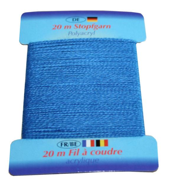 Stopfgarn Stopftwist Polyacryl Ne 10/2 20 m blau bleu (1020)