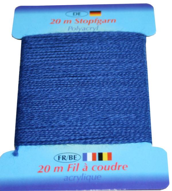 Stopfgarn Stopftwist Polyacryl Ne 10/2 20 m marine blau (1026)
