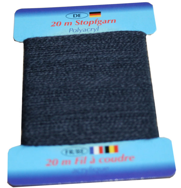 Stopfgarn Stopftwist Polyacryl Ne 10/2 20 m dunkelblau (1028)