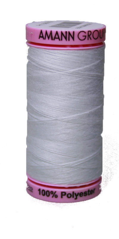 Zwirn 100 % Polyester ASPO PES 120 Amann weiß 500 m (2000)