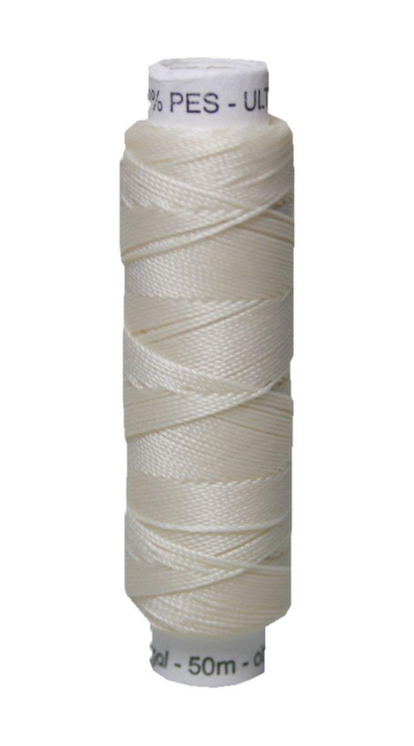 Sattlergarn Zwirn 50 m Polyester ULTRAPOLY 30 hellbeige (0710)