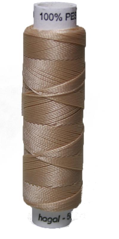 Sattlergarn Zwirn 50 m Polyester ULTRAPOLY 30 beige (0720)