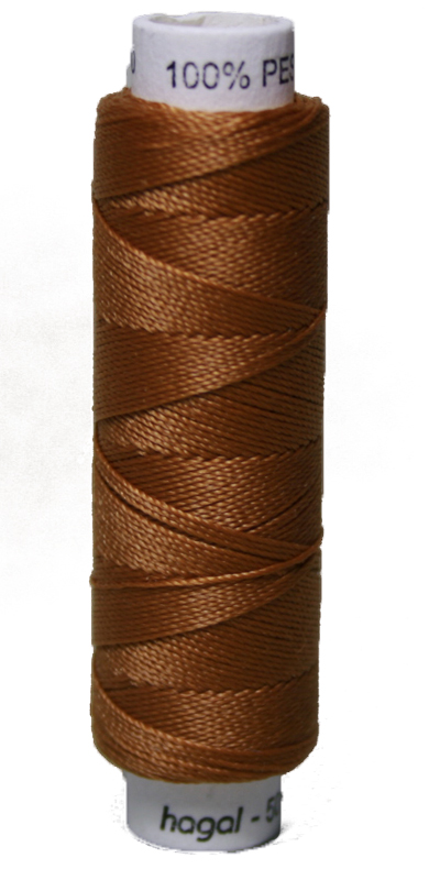 Sattlergarn Zwirn 50 m Polyester ULTRAPOLY 30 braun (0724)