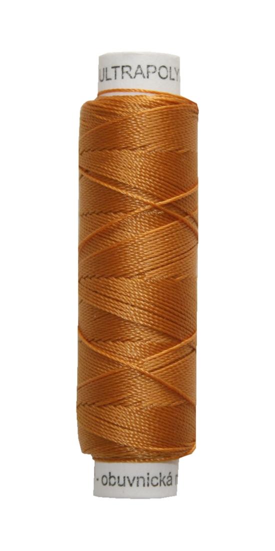 Sattlergarn Zwirn 50 m Polyester ULTRAPOLY 30 braun (0764)