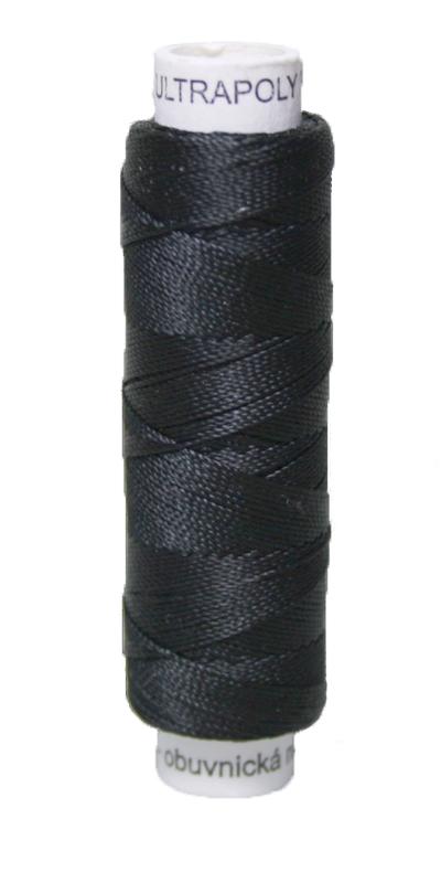 Sattlergarn Zwirn 50 m Polyester ULTRAPOLY 30 schwarz (0999)