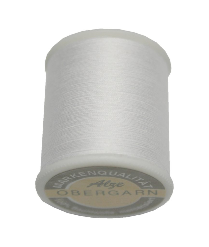 Nähmaschinen Obergarn Nähgarn 200m Baumwolle 40/3 weiß (2000)