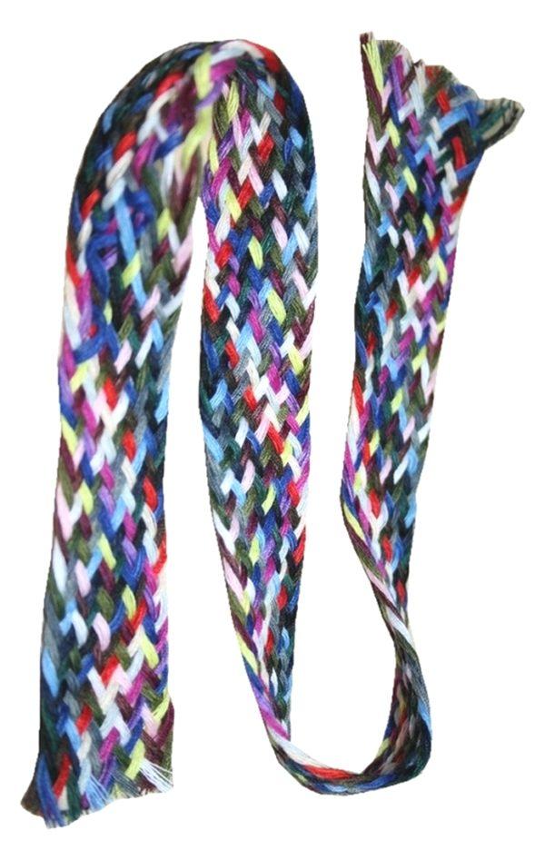 Nähgarnzopf Polyester 21 Farben je 9 Fäden 45 cm (1000)