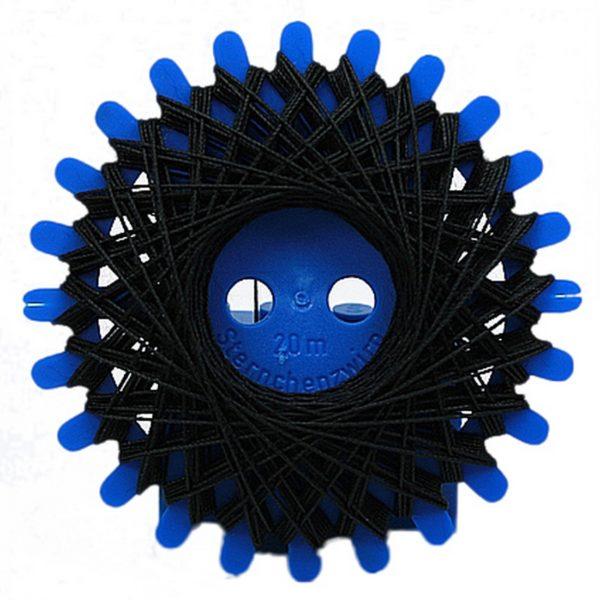 Sternzwirn Baumwolle 2 Stück je 20 m schwarz (0001)