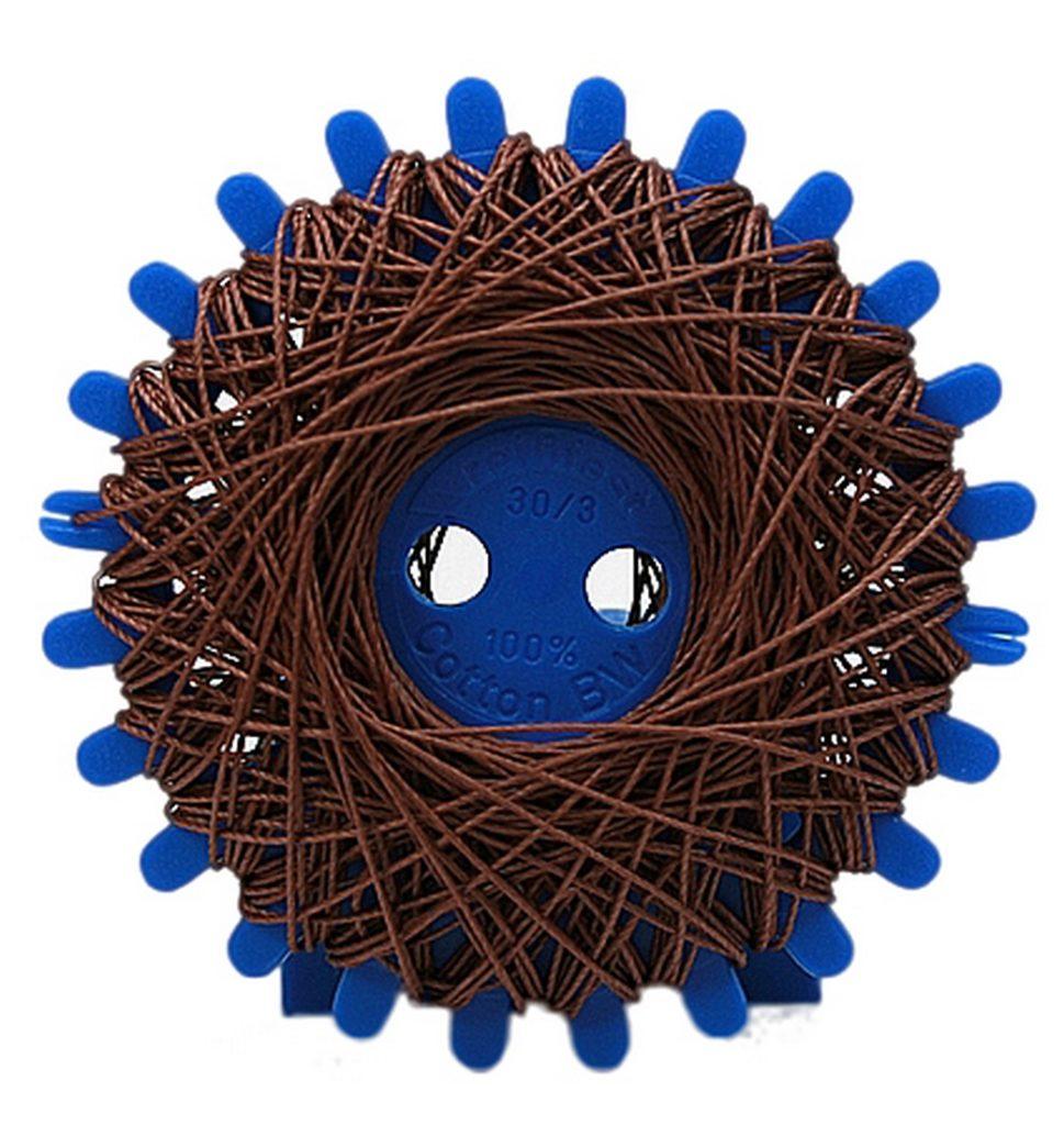 Sternzwirn Baumwolle 2 Stück je 20 m braun (0006)