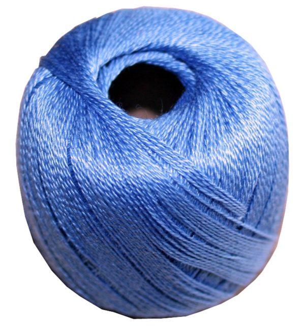 Stopftwist Stopfgarn Baumwolle 8-fach mercerisiert 20 m blau (0872)