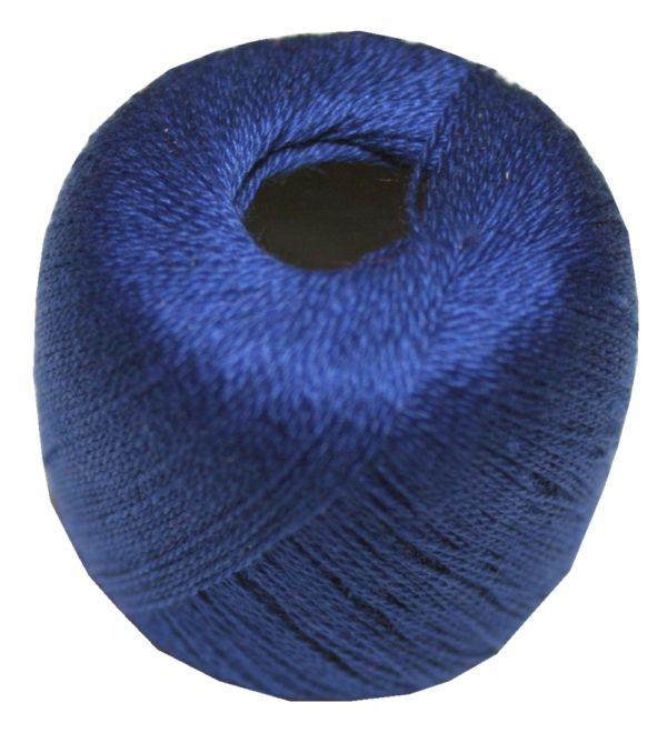 Stopftwist Stopfgarn Baumwolle 8-fach mercerisiert 20 m blau (0873)