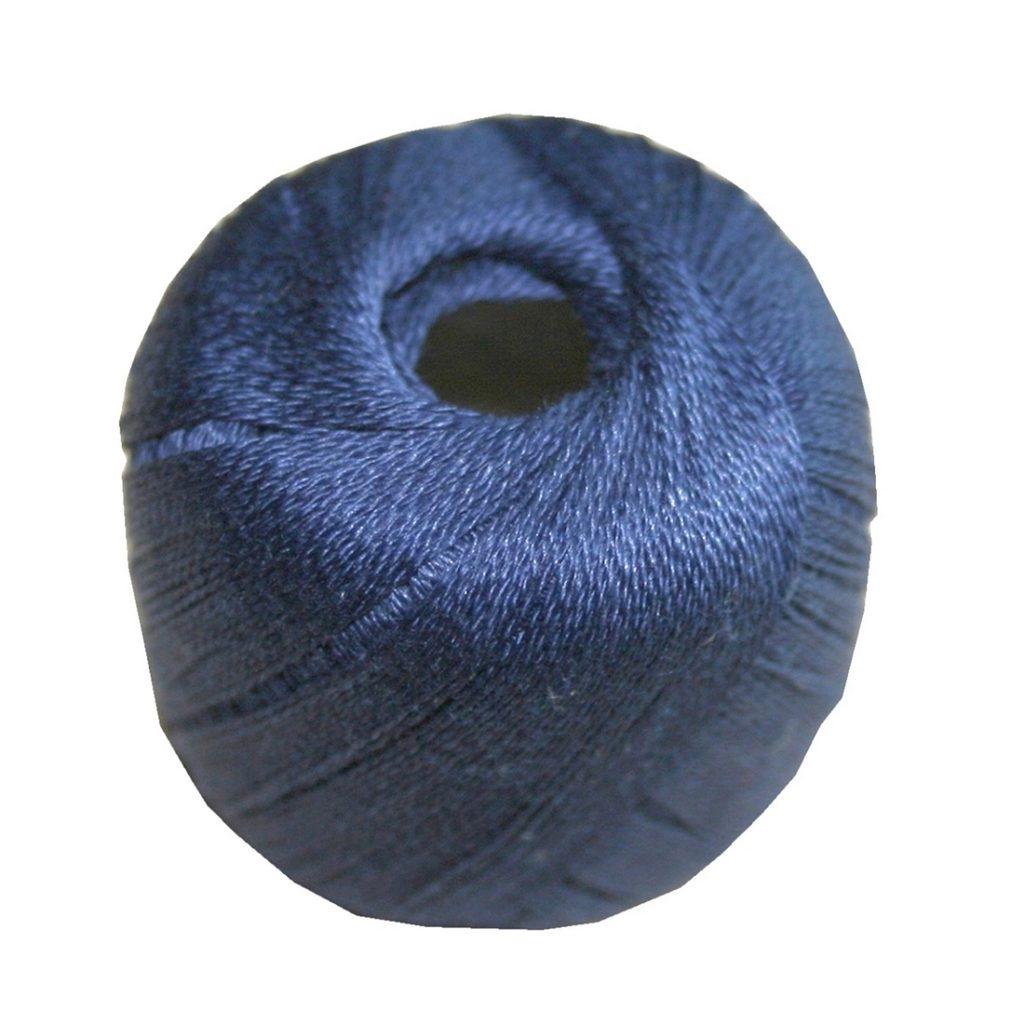 Stopftwist Stopfgarn Baumwolle 8-fach mercerisiert 20 m blau (0874)
