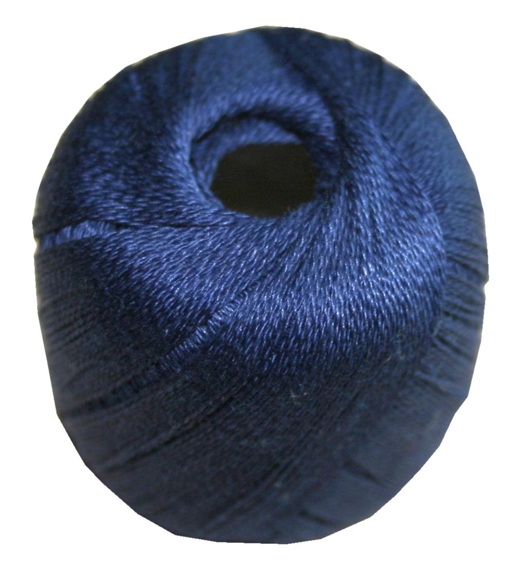 Stopftwist Stopfgarn Baumwolle 8-fach mercerisiert 20 m blau (0875)