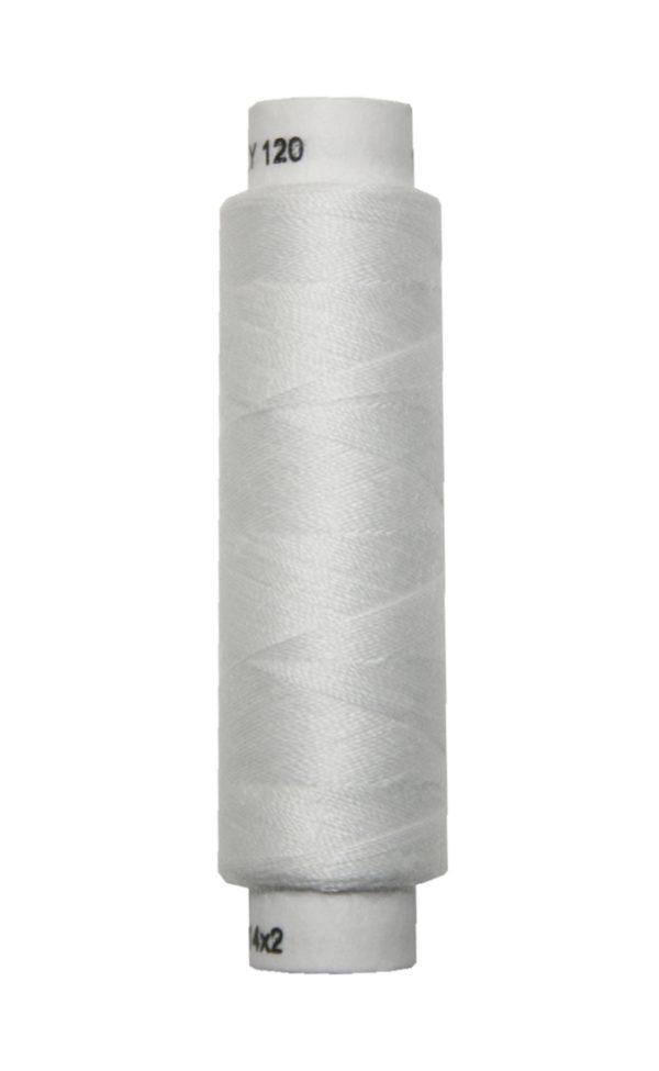 Nähmaschinen Nähgarn 100 m Polyester UNIPOLY 14x2 cremeweiß (0010)