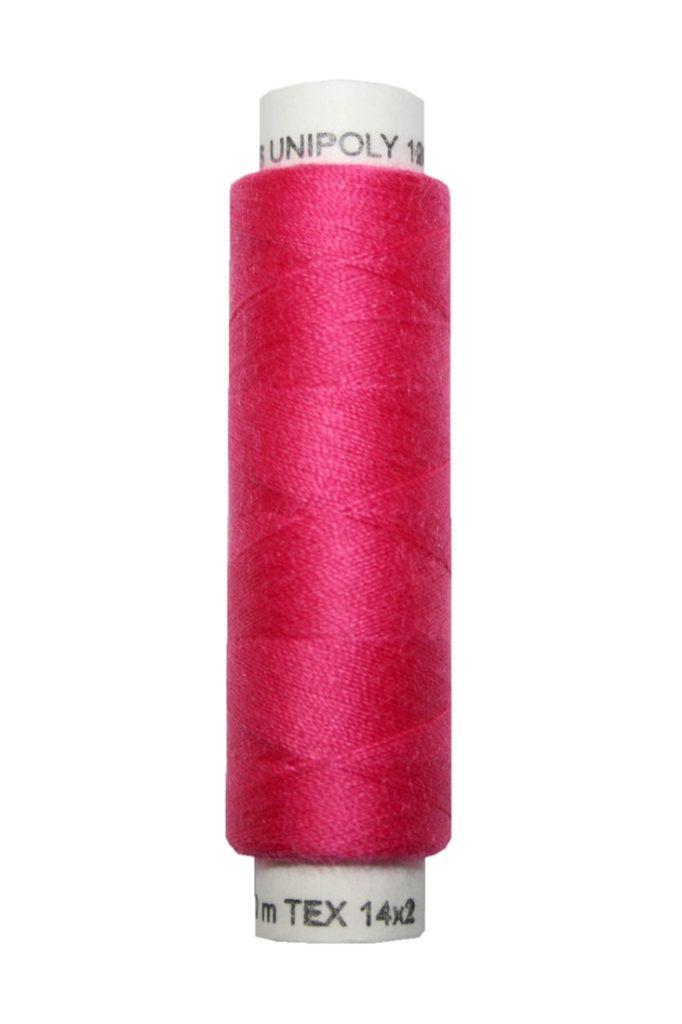 Nähmaschinen Nähgarn 100 m Polyester UNIPOLY 14x2 rot (0345)
