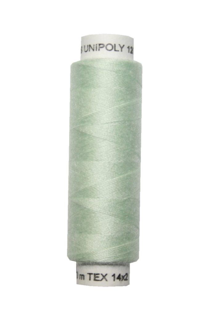 Nähmaschinen Nähgarn 100 m Polyester UNIPOLY 14x2 grün (0661)