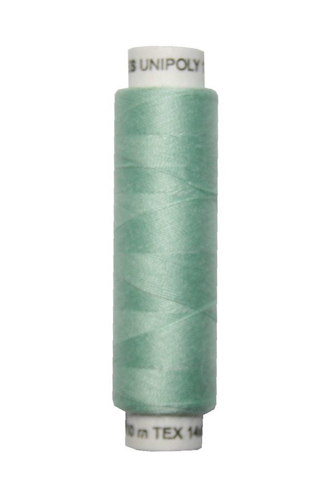 Nähmaschinen Nähgarn 100 m Polyester UNIPOLY 14x2 hellgrün (0672)