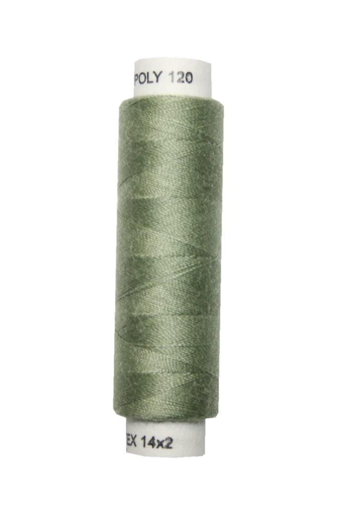 Nähmaschinen Nähgarn 100 m Polyester UNIPOLY 14x2 grün (0683)