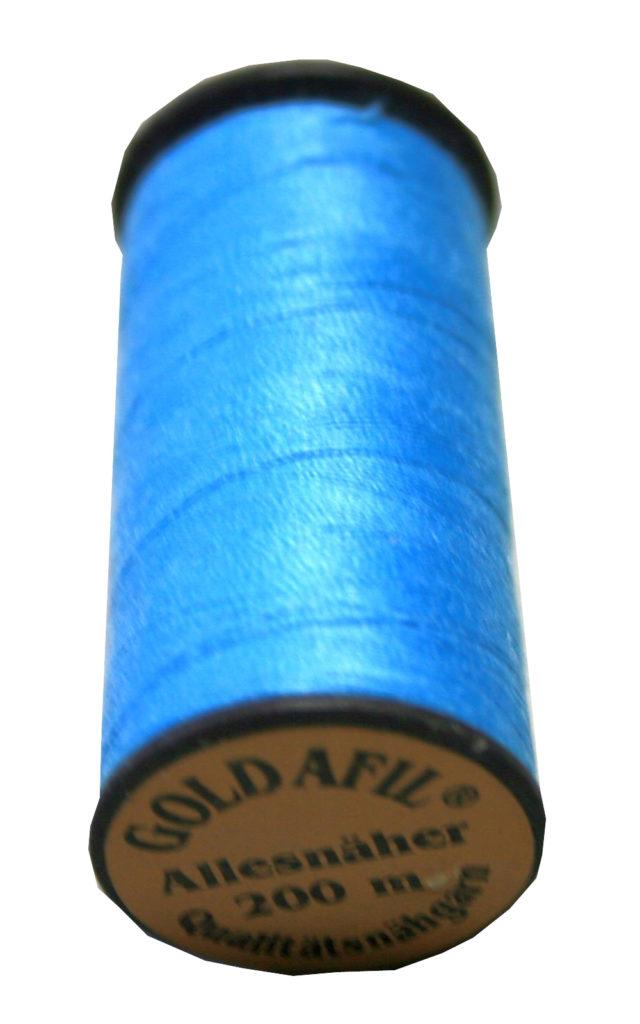 Nähmaschinen Nähgarn Polyester Ne 40/2 hellblau 200 m (1018)