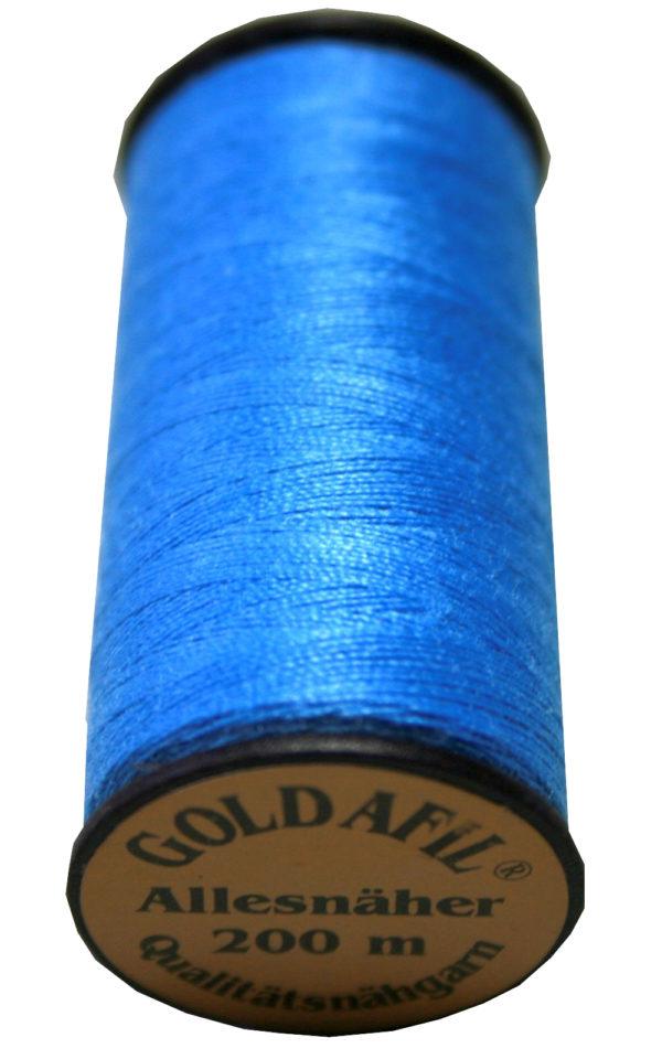 Nähmaschinen Nähgarn Polyester Ne 40/2 blau 200 m (1020)