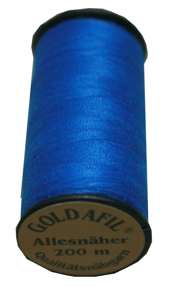 Nähmaschinen Nähgarn Polyester Ne 40/2 blau 200 m (1021)