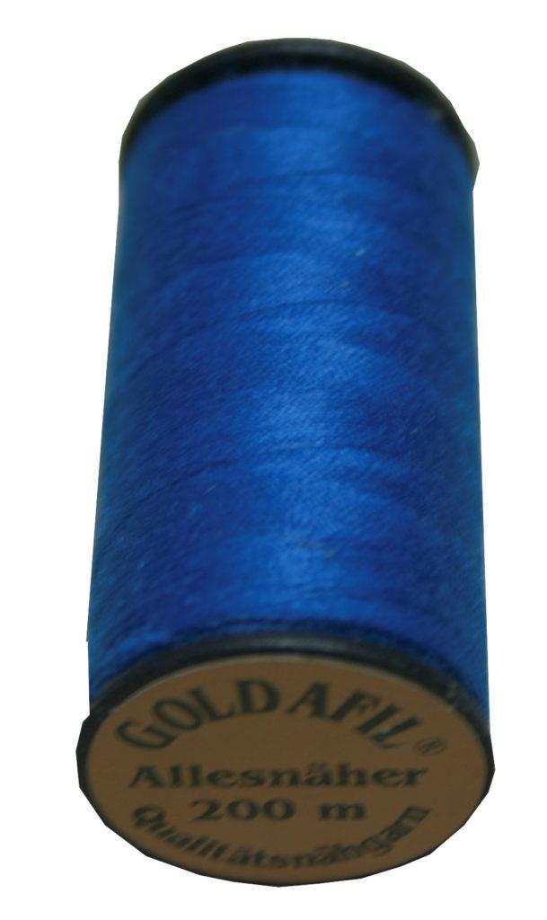 Nähmaschinen Nähgarn Polyester Ne 40/2 blau 200 m (1023)