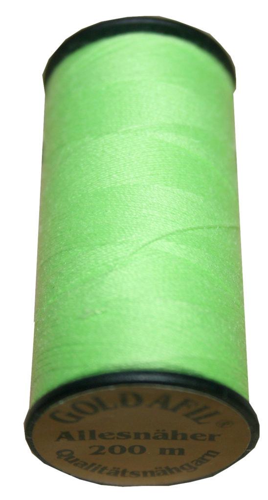 Nähmaschinen Nähgarn Polyester Ne 40/2 grün kiwi 200 m (1045)
