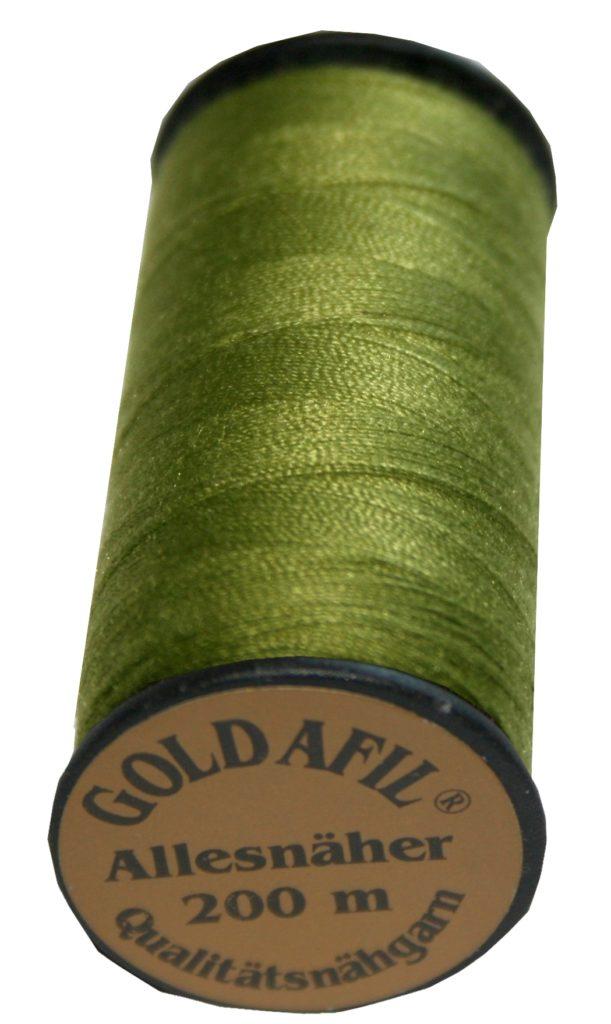 Nähmaschinen Nähgarn Polyester Ne 40/2 helloliv 200 m (1048)