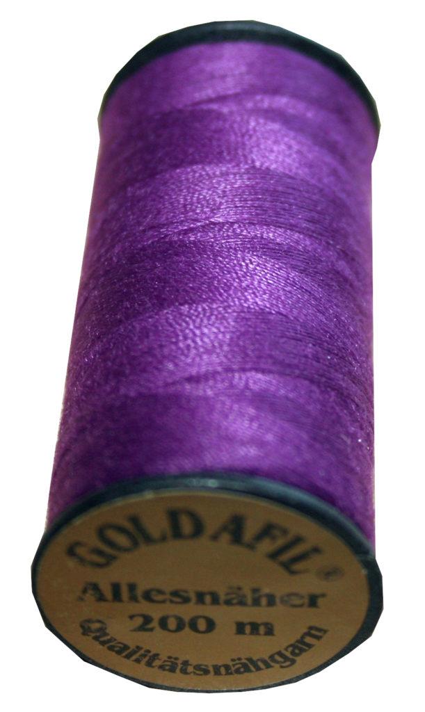 Nähmaschinen Nähgarn Polyester Ne 40/2 lila 200 m (1086)