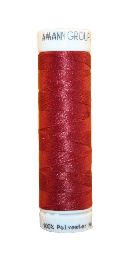 Elastischer Zwirn Polyester ASPOTEX 120 100m bordeaux weinrot (0106)