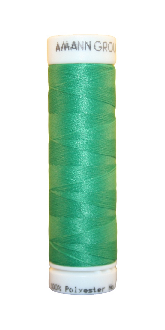 Elastischer Zwirn Polyester ASPOTEX 120 Amann 100m grün (0239)