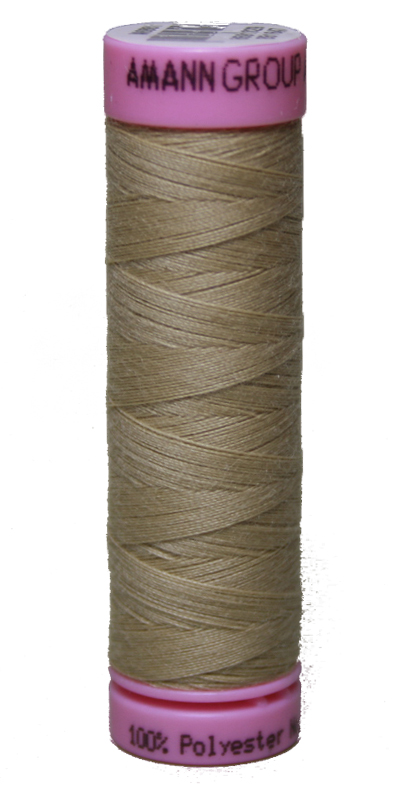 Zwirn 100 % Polyester ASPO PES 120 Amann beige 100 m (0265)