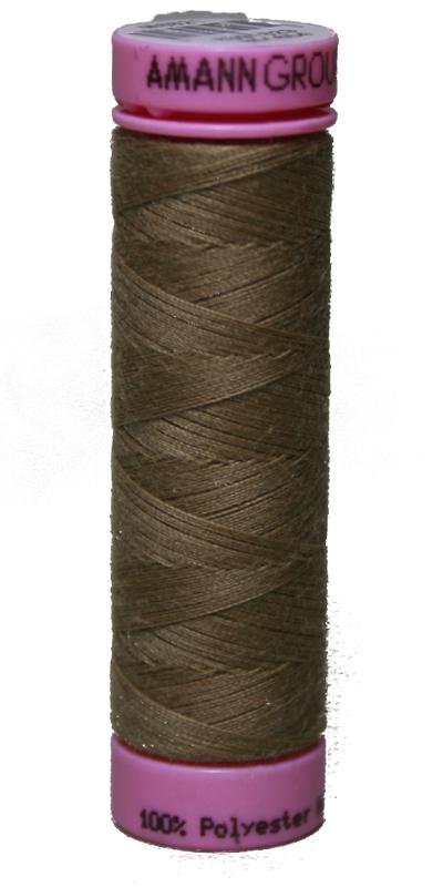 Zwirn 100 % Polyester ASPO PES 120 Amann beigebraun 100 m (0267)