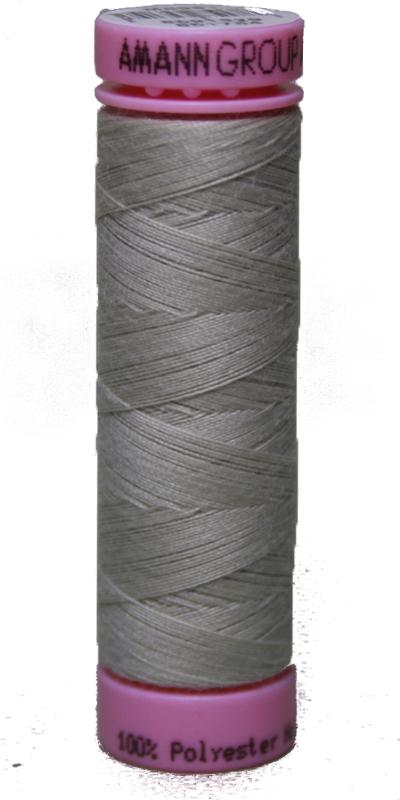 Zwirn 100 % Polyester ASPO PES 120 Amann hellgrau 100 m (0327)