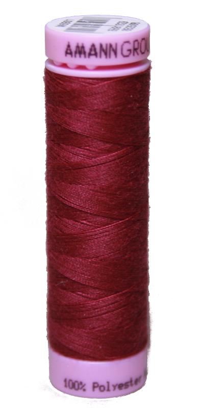 Zwirn 100 % Polyester ASPO PES 120 Amann purpur rot 100 m (0869)