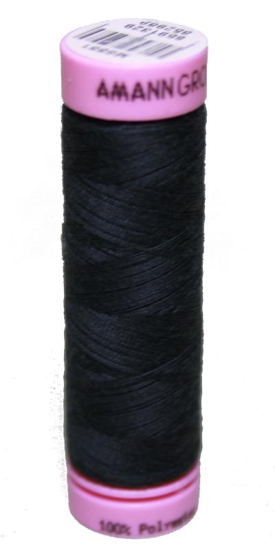 Zwirn 100 % Polyester ASPO PES 120 Amann schwarz 100 m (1284)