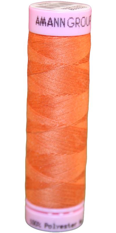 Zwirn 100% Polyester ASPO PES 120 Amann orange 100m (1334)