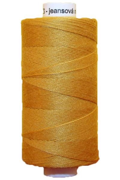 Jeansgarn UNIPOLY 30*3 Polyester 200 m bernstein goldsand (0128)