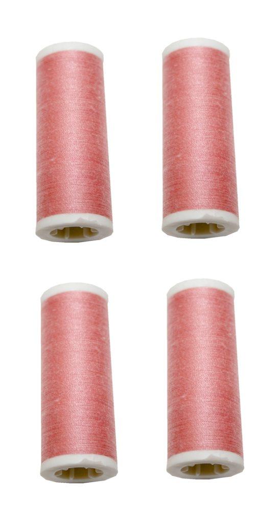Nähmaschinen Nähgarn 400m 4 x 100m Polyester 40/2 altrosa (1065)