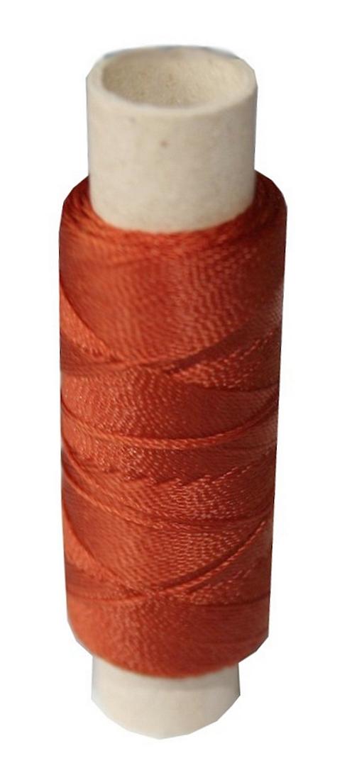 Sattlergarn Zwirn 14x2x3 Polyester 50 m braun Ø 0,3mm (0014)