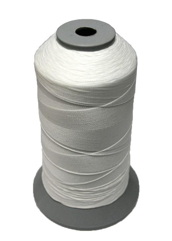 Sattlergarn Zwirn 14x2x3 Polyester 1000m weiß Ø 0,3mm (5001)