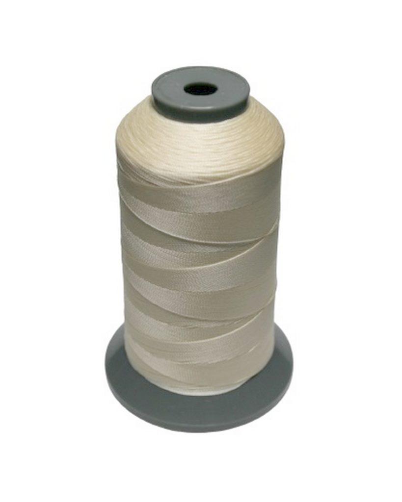 Sattlergarn Zwirn 14x2x3 Polyester 1000m creme Ø 0,3mm (5002)