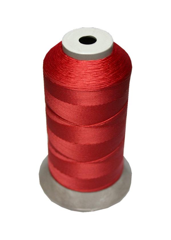 Sattlergarn Zwirn 14x2x3 Polyester 1000m rot Ø 0,3mm (5005)