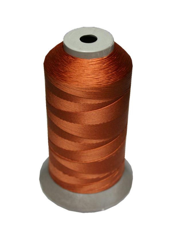 Sattlergarn Zwirn 14x2x3 Polyester 1000m braun Ø 0,3mm (5093)