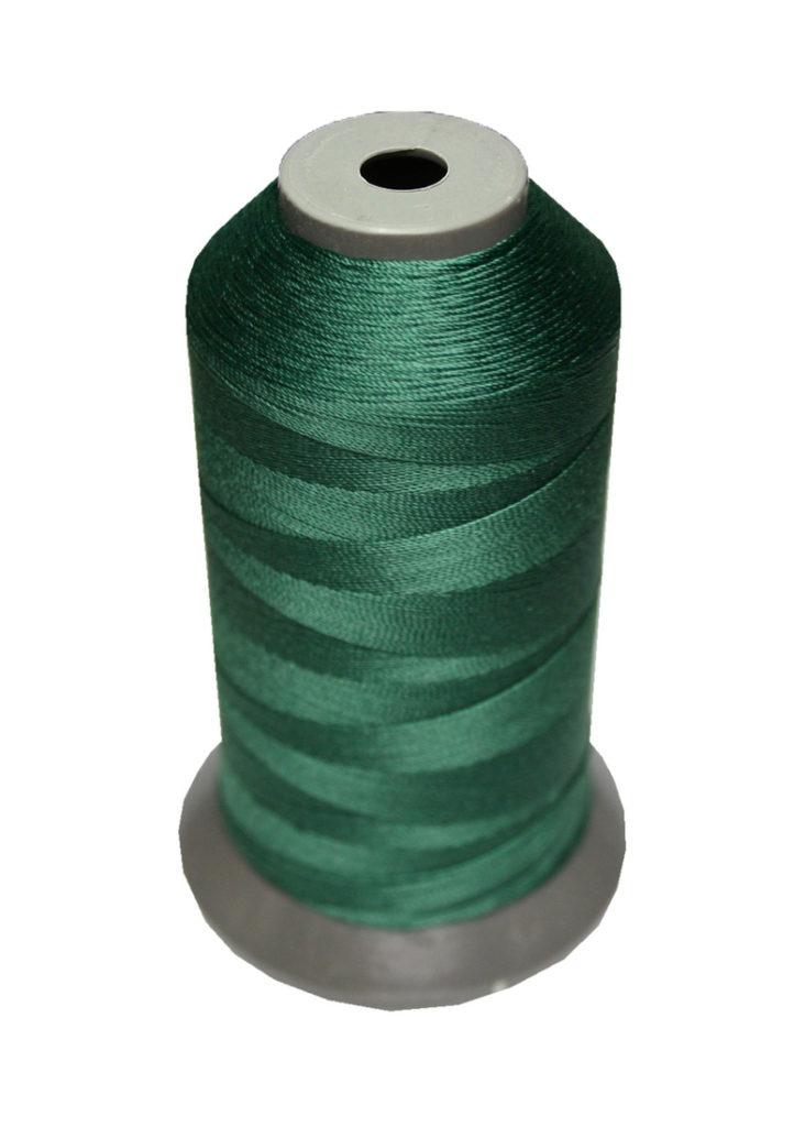 Sattlergarn Zwirn 14x2x3 Polyester 1000m grün Ø 0,3mm (5104)