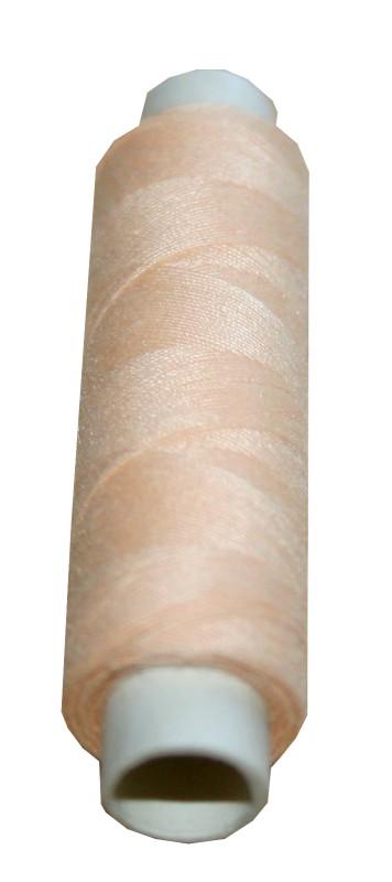 Nähmaschinen Nähgarn Polyester 100 m 100/3 creme beige (1032)